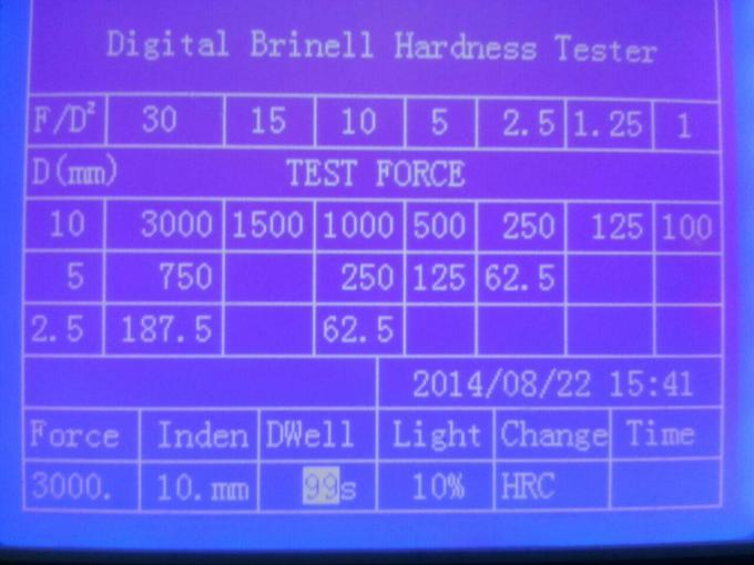 Omron Encoder Digital Brinell Hardness Tester With 120mm Throat Depth