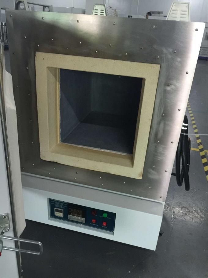 Laboratory  High Temperature Ceramics Ashing Muffle Furnace 3kw 220v