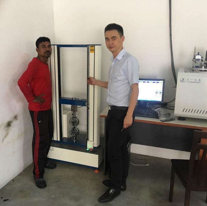 Computer Control Tensile Tearing Strength Testing Machine LED Digital Display