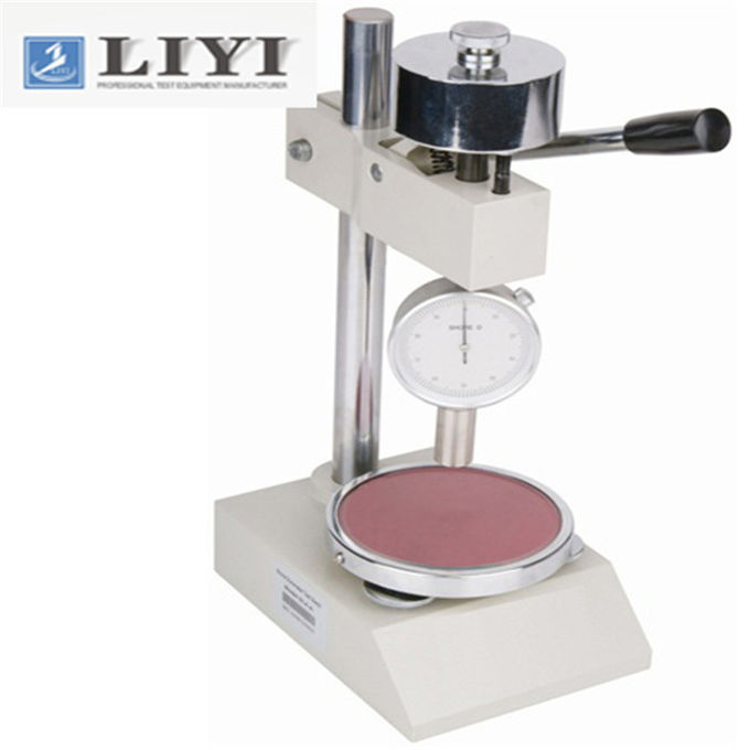 Rubber Testing Machine 2.5 Mm Presserdics 20~90HD Measurement Range