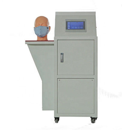 Face Mask Air Resistance Tester / Disposable Mask Airflow Resistance Testing Equipment