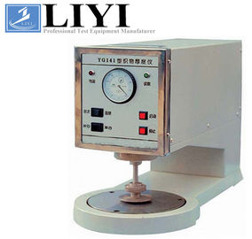 0.1 - 10mm Testing Thickness Range Textile Testing Instruments Fabric Thickness Tester