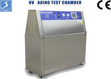 China Automatic Steel UV Aging Test Chamber , Standard UVB Accelerated Weathering Tester supplier
