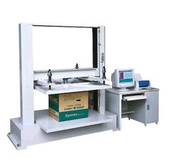 1T Corrugated Box Cantons Compression Paper Testing Instruments with Computer Control