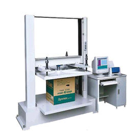 5T Computer Container Carton Compression Pressure Testing Equipment With 1/250000 Resolution