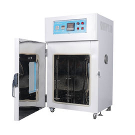 China 4.5 KW Industrial Rubber Hot Air Drying Oven With Turbine Fan Electronic Power supplier