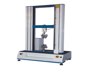 Double Column Extensometer Computer Tensile Compression Testing Machine