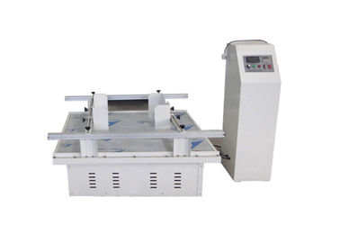China White Package Testing Equipment , Simulating Transportation Vibration Test Table supplier