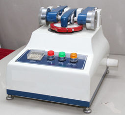 China Small Textile Testing Equipment / Taber Abrasion Tester With Tesuipment High Speed 60 R.P.M supplier