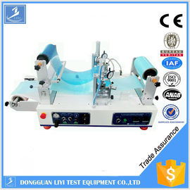 Automatic Adhesive Testing Equipment , Hot Melt Roll to Roll UV Coating Machine