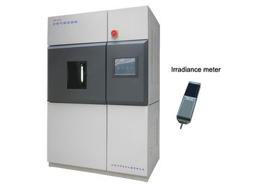 Color Fastness to Sunlight and Weather Solar Radiation Test Chamber PLC