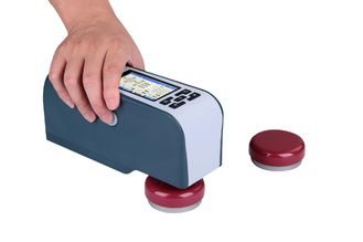 China Electronic High Precision Portable Colorimeter 0℃-40℃ Working Temperature Range supplier