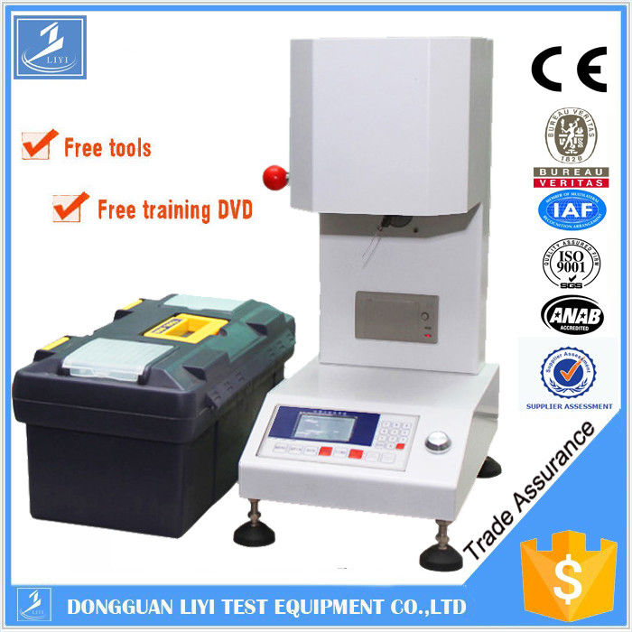 Flow Rate Tester : Lcd plastic testing equipments plc melt flow rate tester