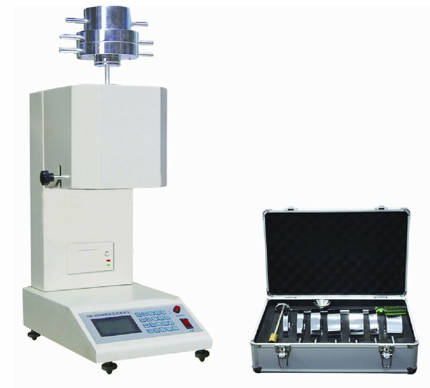 Flow Rate Tester : High precision temperature control melt flow index rate