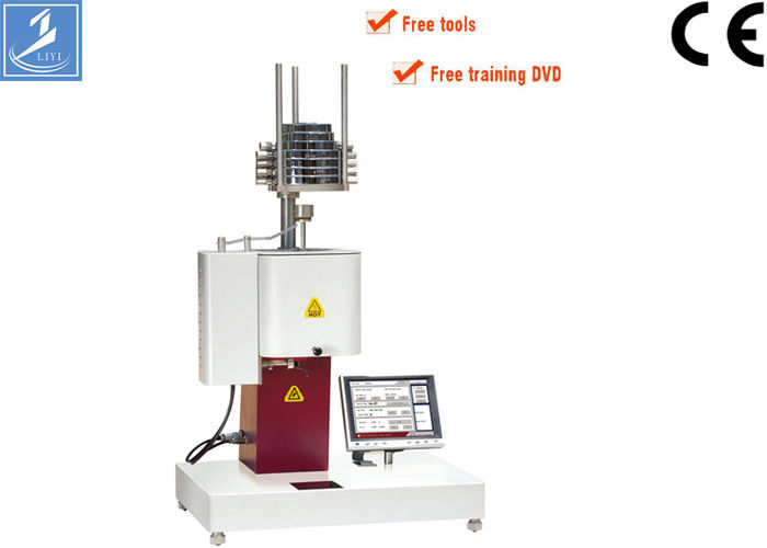 Flow Rate Tester : Plastic melt flow rate testing equipment lcd