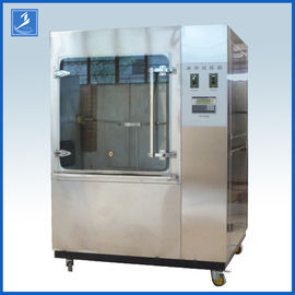 China Coating Textile Waterproof Machine Stainless Rain Testing Equipment For Auto Parts factory