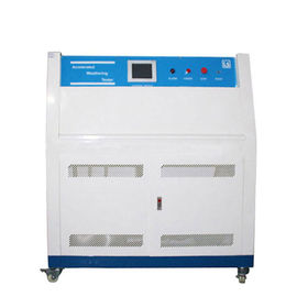 China LY-ZW Touch Screen UV Aging Accelerated Weathering Tester With Capacity 4 KW 8 Lamp  With 48 Samples factory