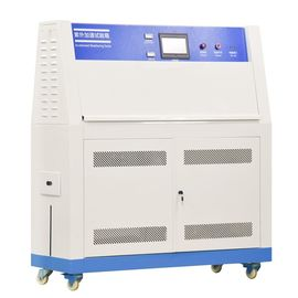 China Laboratory Fabric Plastic Textile Paints UV Aging Test Equipment 290 - 400nm factory