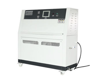 China White UV Accelerated Weathering Tester / UV Aging Test Machine 220V factory