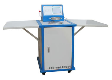 Digital Air Permeability Textile Testing Equipment with 11 Nozzle Air blow
