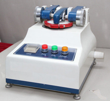 Small Textile Testing Equipment / Taber Abrasion Tester With Tesuipment High Speed 60 R.P.M