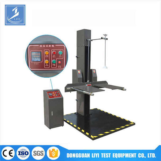 Digital Control Paper Testing Instruments / Corrugated Package Box Carton Drop Tester