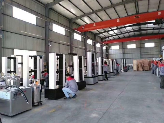 300 Ton Universal Tensile Machine / Compression Strength Testing Equipment 250mm Piston Stroke