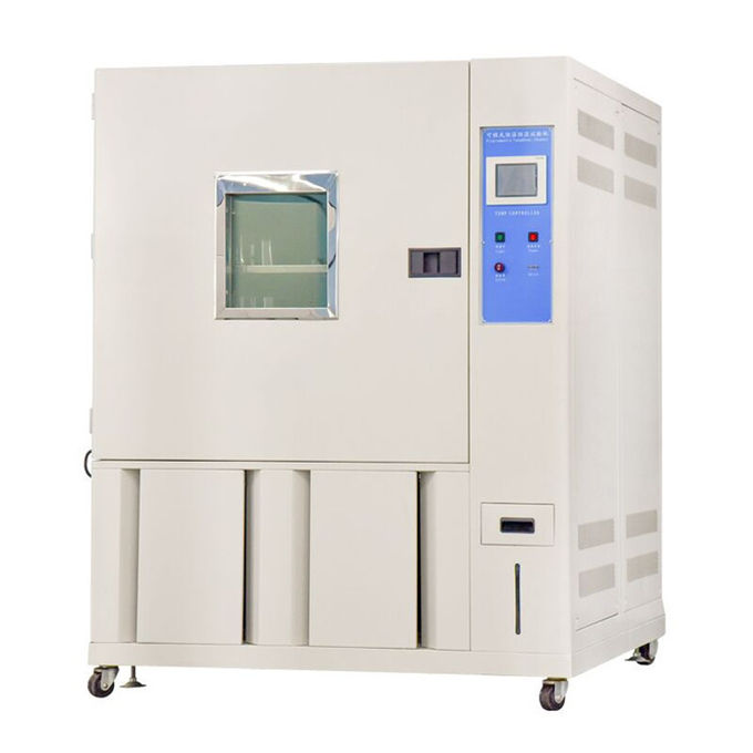 White And Blue Stainless Steel Temperature and Humidity Test Chamber