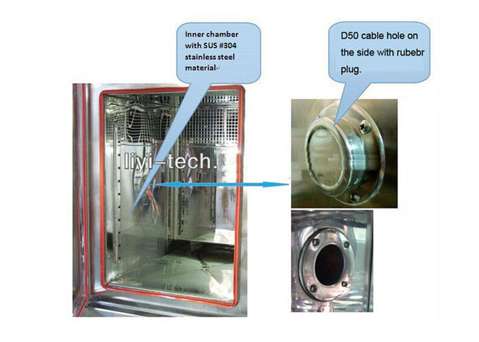 Universal Environmental Temperature And Humidity Test Chamber Programmable CE